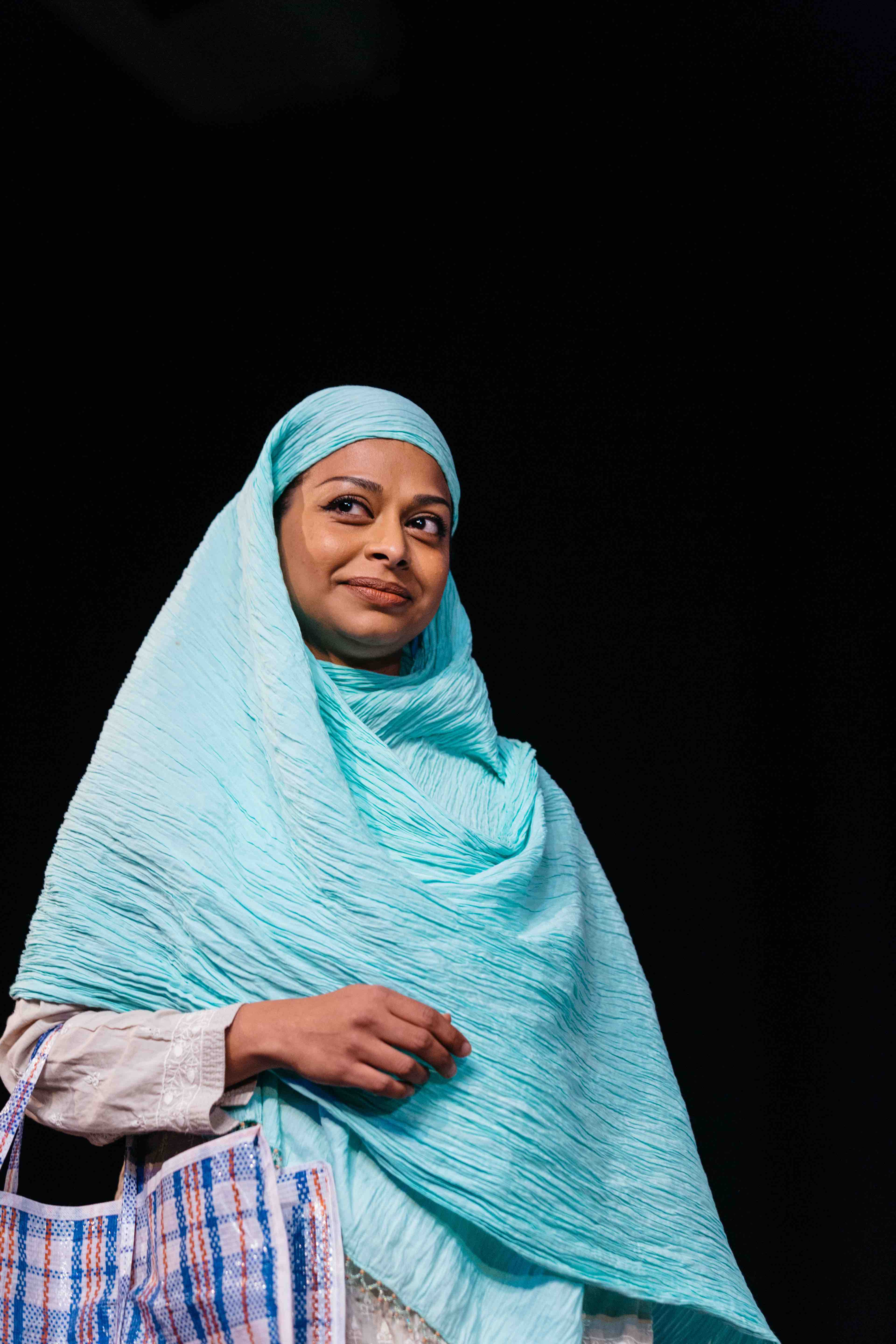 Ayesha Darker in Hijabi Monologues London directed by Milli Bhatia-742 -®helenmurray